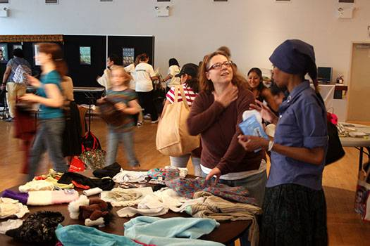 Stop 'N' Swap, GrowNYC, swap event, recycling, sustainability