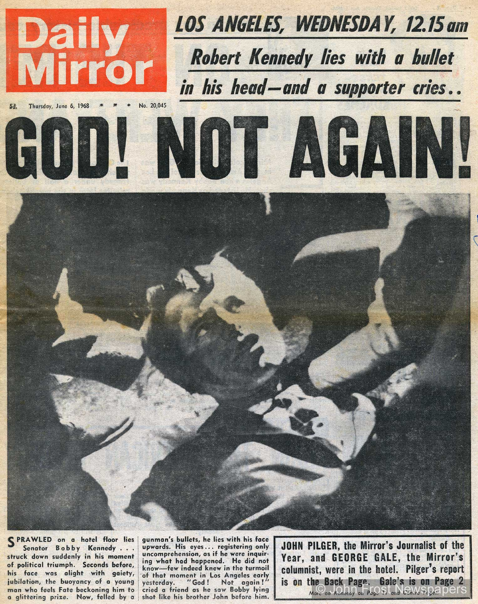 Image result for bobby kennedy's assassination photos