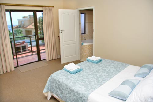 The Main Bedroom with Sea Views