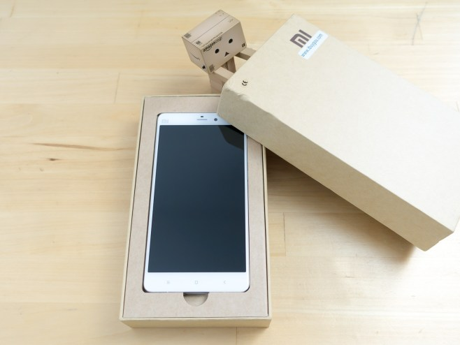 Unboxing the Mi Note !