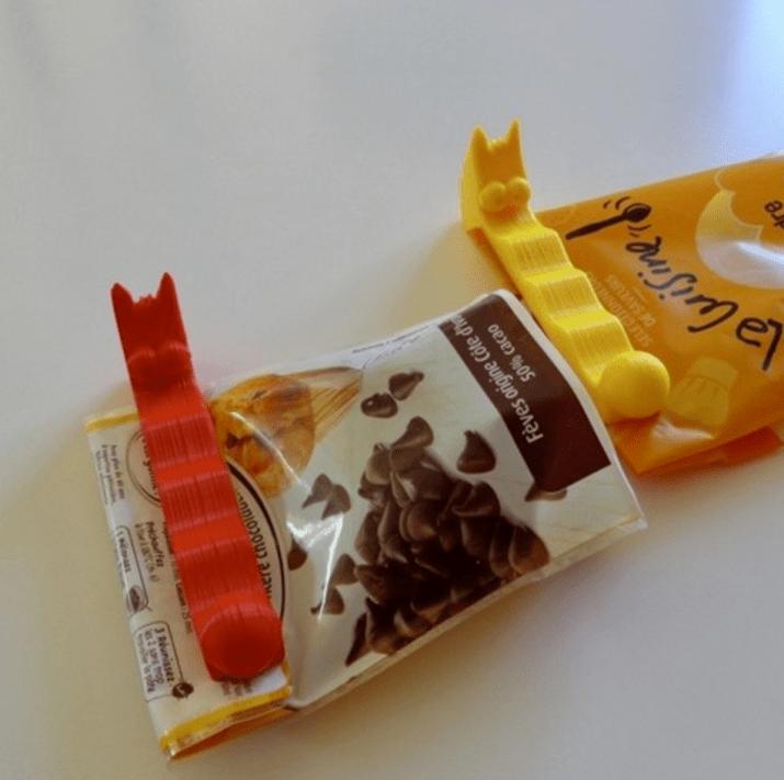 clip pour aliments