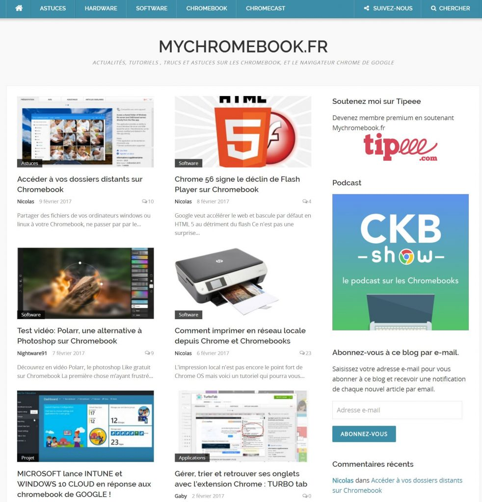 mychromebook.fr