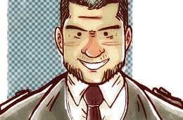 caricatura Beto Patux