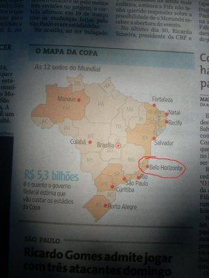 mapa errado FOLHA