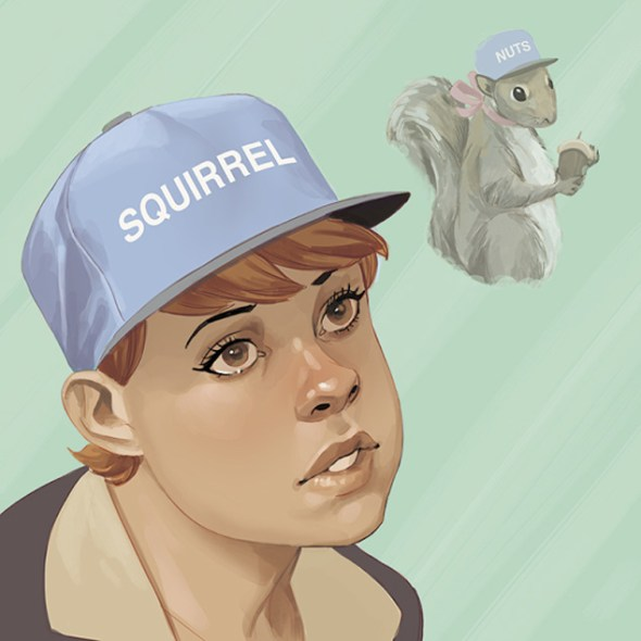 The Unbeatable Squirrel Girl (Tyler, the Creator's Wolf)