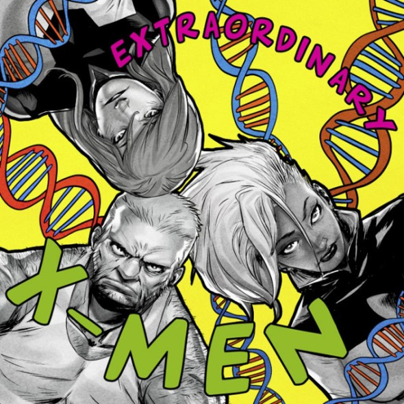 Extraordinary X-Men (De La Soul's 3 Feet High and Rising)