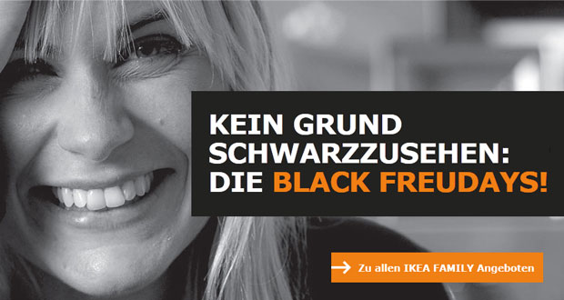 Black Freudays Bei Ikea Sicher Dir Jetzt Die Ikea Family