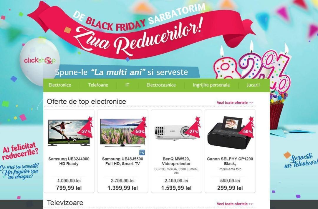Catalog Black Fiday 2016 - ClickShop