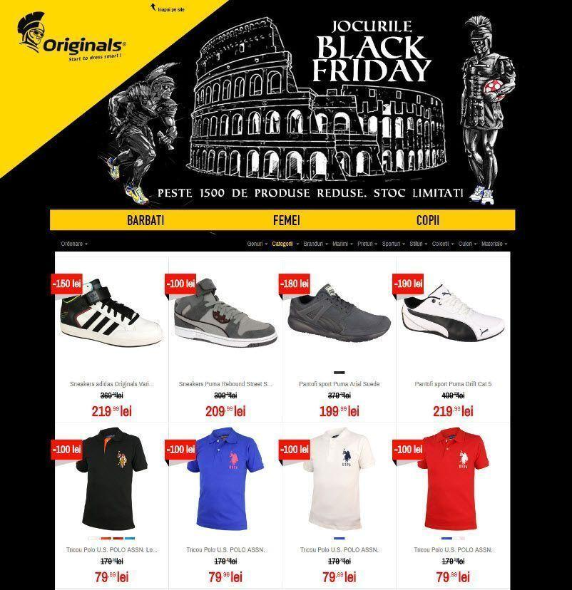 Catalog Black Fiday 2016 - Originals