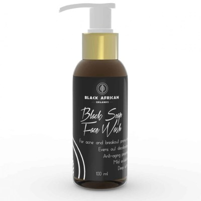 Black Soap Face Wash 100ml