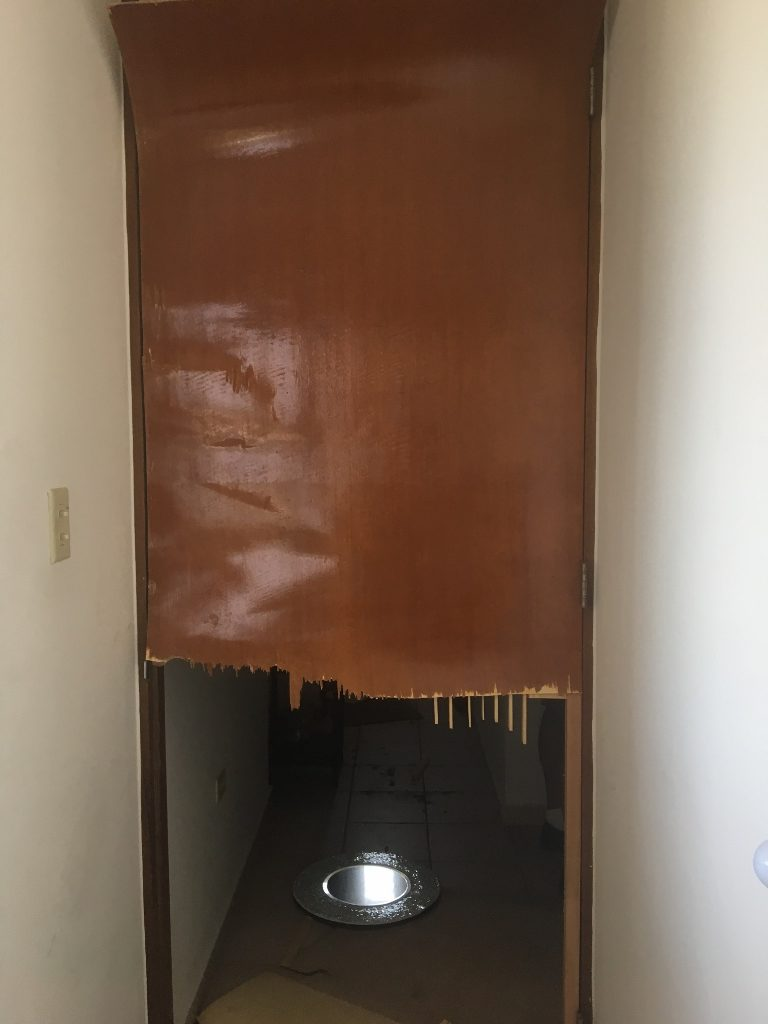 hurricane maria experience puerto rico rips door in half