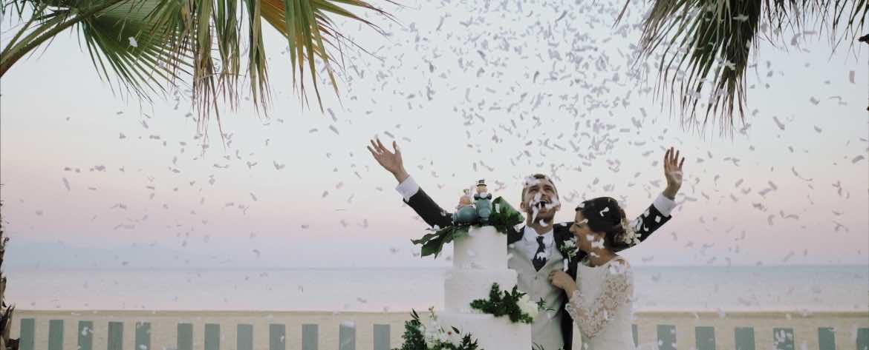 Wedding at Grappolo d'uva Terracina