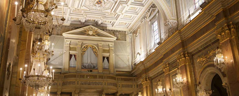 San Giovanni e Paolo al Celio organo