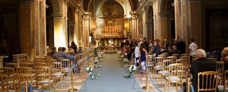 Basilica di Santa Francesca Romana Navata