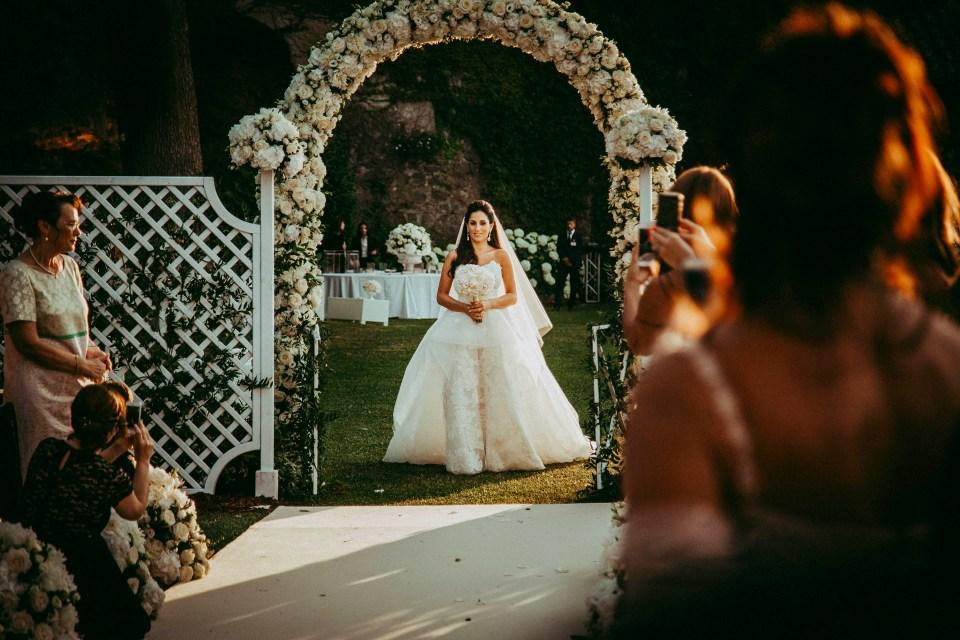 Bride is coming