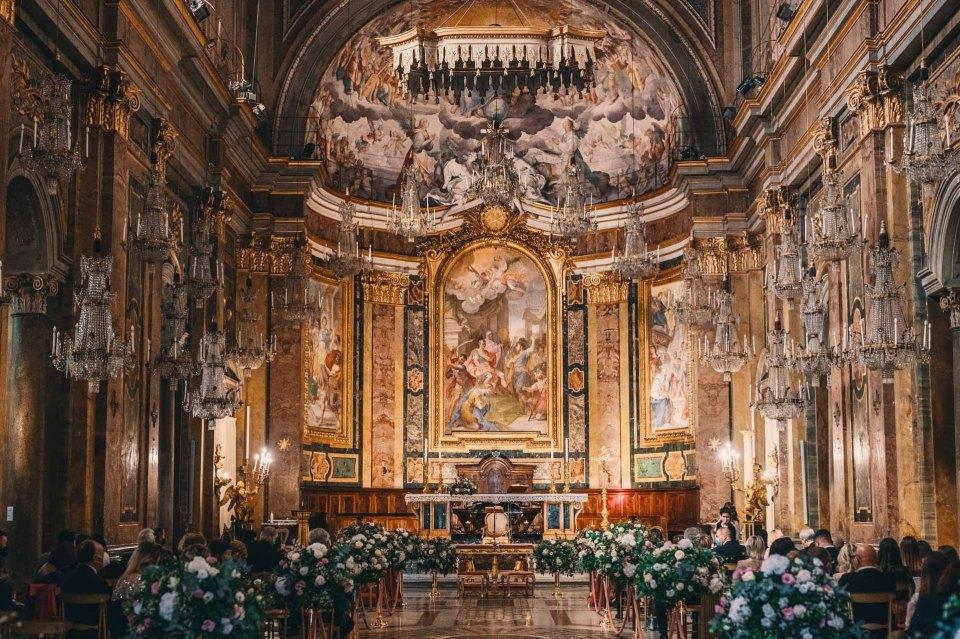 matrimonio alla basilica dei ss Giovanni e paolo chiesa dei lampadari