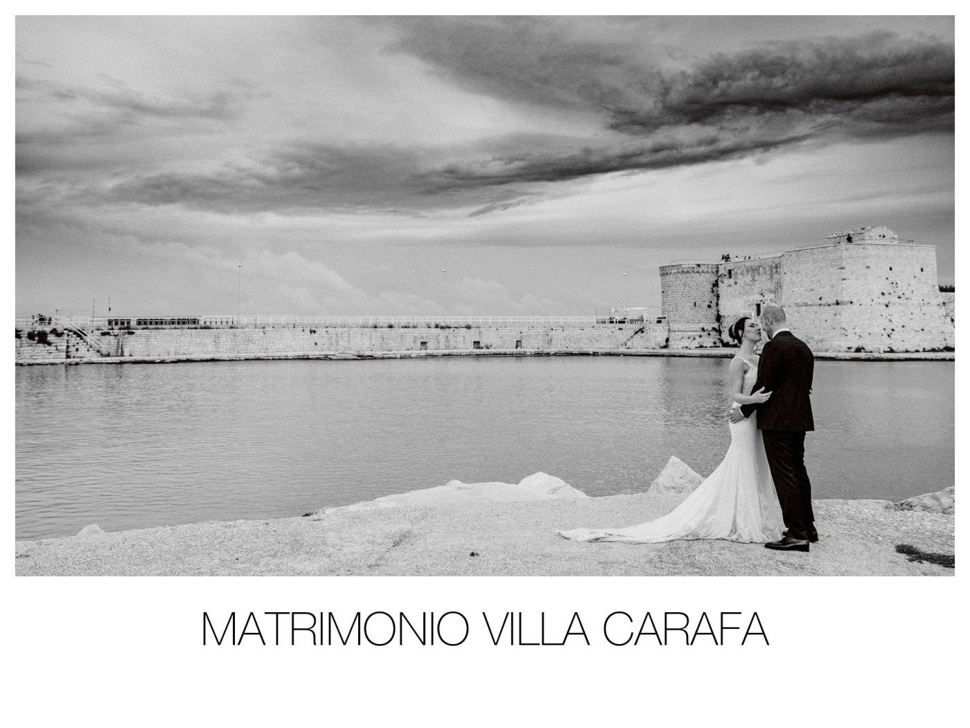 Matrimonio a Villa Carafa