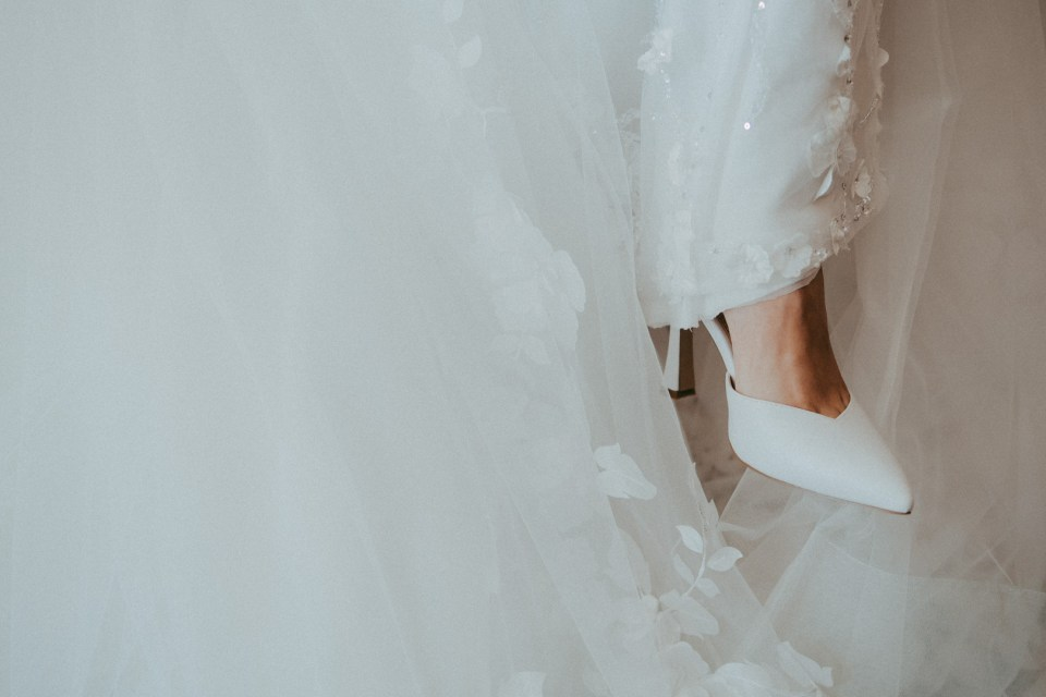Dettaglio Scarpe Sposa