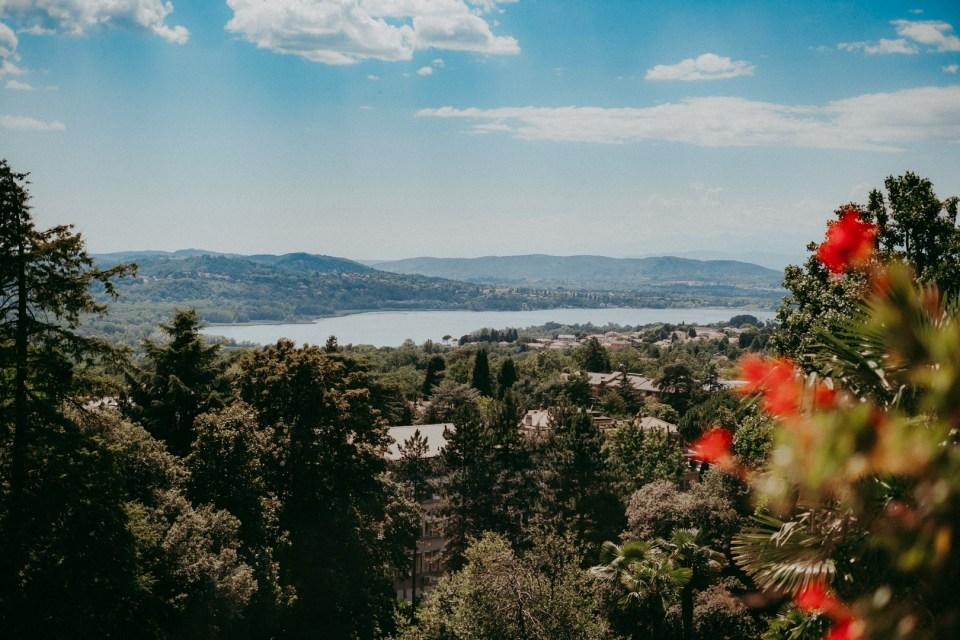 Veduta da Villa Montalbano