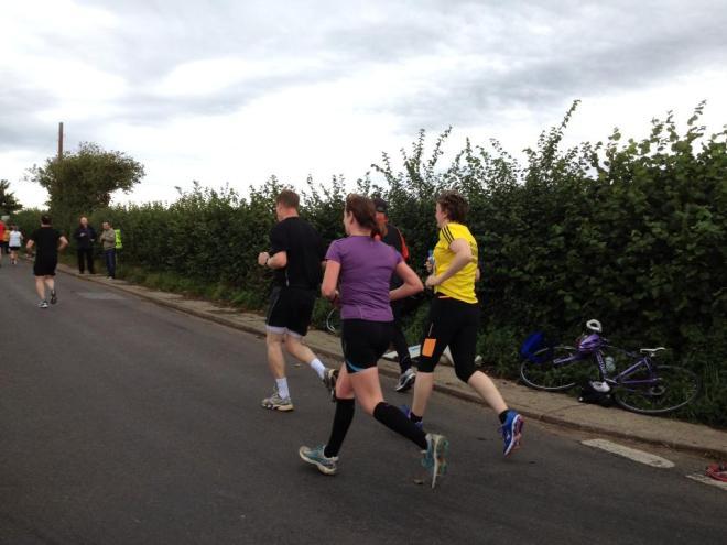 Mile 9 - still running