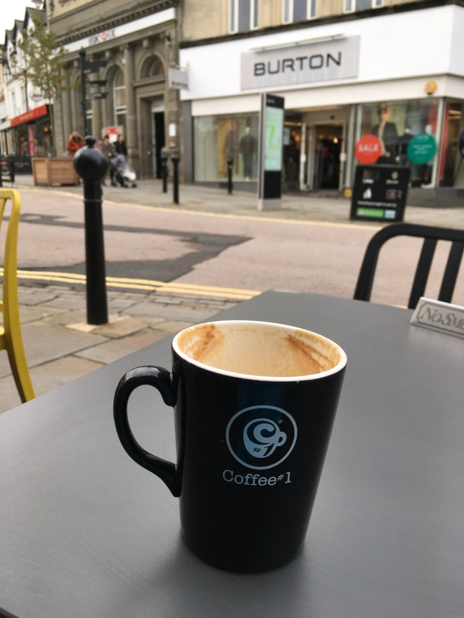 Coffee from Coffee#1 on Chippenham High Street