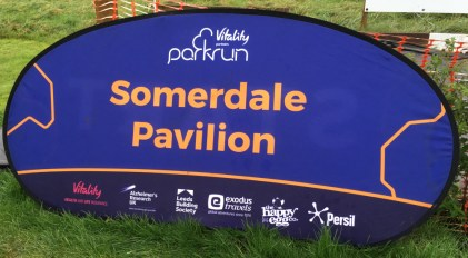 Photo of Somerdale parkrun sign
