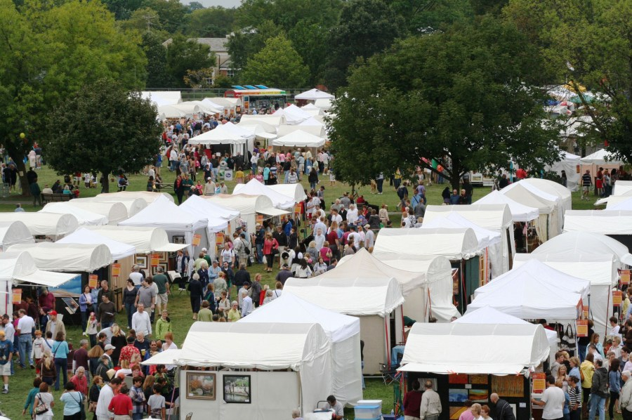 upper arlington arts festival  attendance