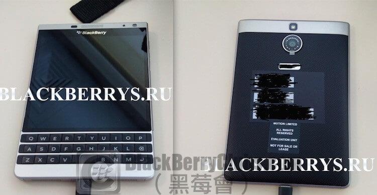 BlackBerry Oslo (BlackBerry Passport訂制版) 最新消息2 及 BlackBerry Oslo 工程機實機照 https://www.blackberryclubs.com/blackberry-oslo-update2/