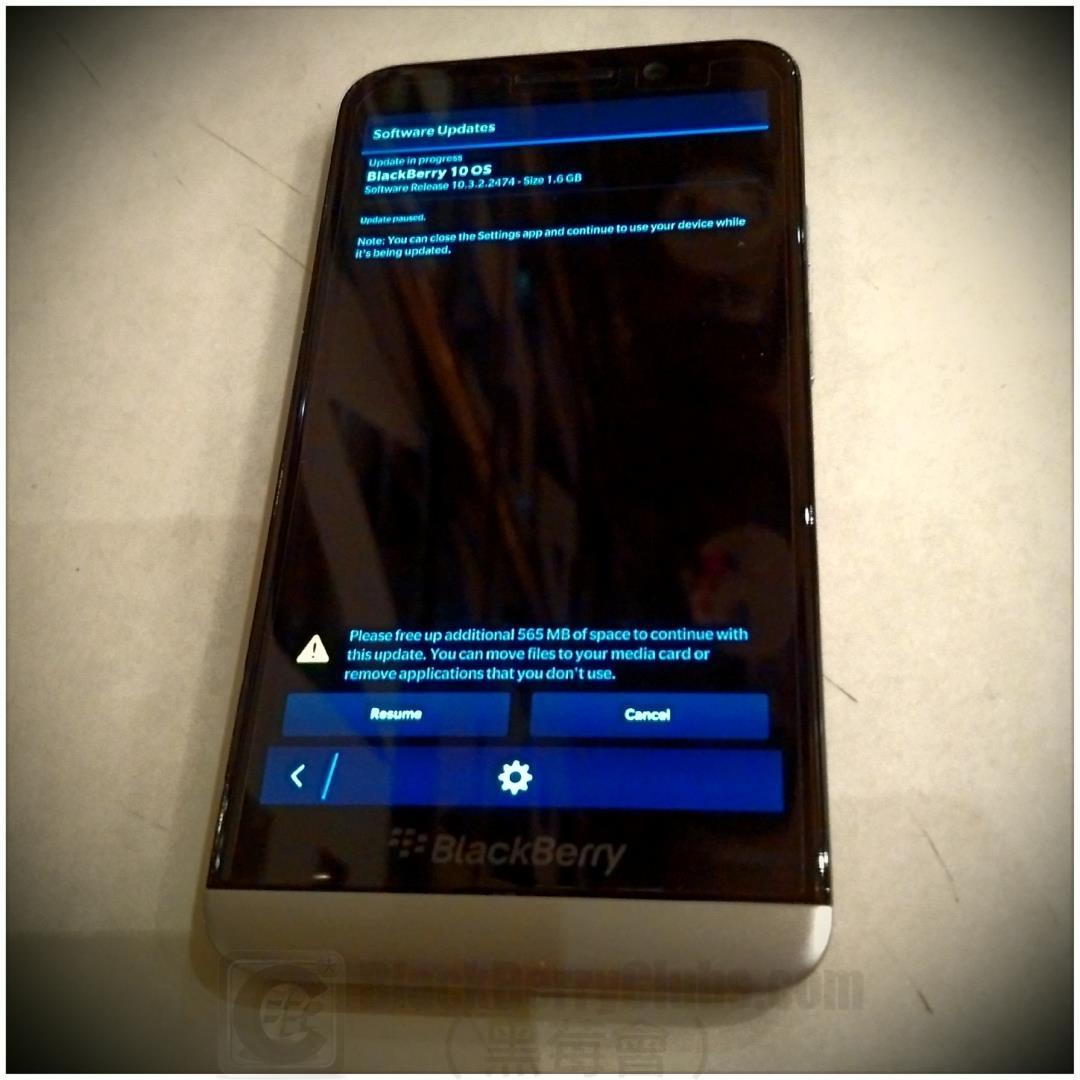Blackberry 10 Os Update