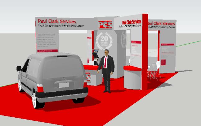 PCS exhibition stand design