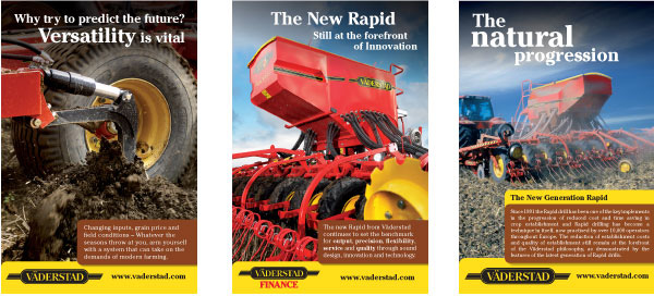 Vaderstad adverts