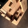 BLACKBETON maquette bois AZAMAT pot bonsai