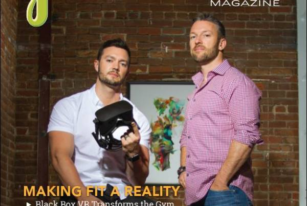 Black Box founders Preston Lewis & Ryan DeLuca on the cover of Greenbelt Magazine
