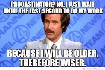 procrastination-no