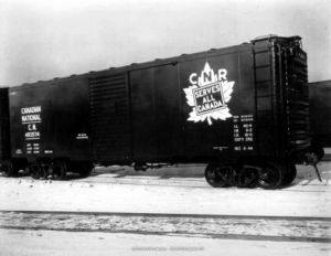 CNR Box Cars
