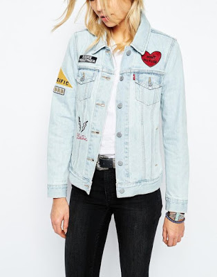 Asos Levi patch jacket