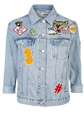 patch denim jacket hashtag