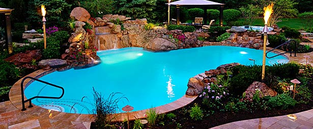 Chicago Custom Pools Amp Waterfalls By Black Creek Canyon