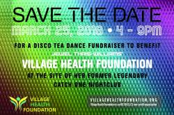 Disco Tea Dance Fundraiser for Village Health Foundation