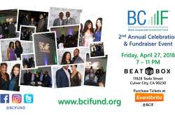 2nd Annual BCIF Celebration & Fundraiser Event