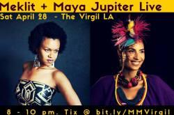 Meklit and Maya Jupiter Live at the Virgil