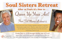 Soul Sisters Retreat 2018 – Queen Up Your Act!
