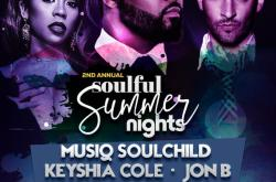 Soulful Summer Nights with Musiq Soulchild , Keyshia Cole, Jon B., Portrait