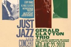 Just Jazz: Live Concert Series ~ Gerald Clayton Trio