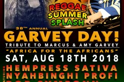 38th Annual Marcus & Amy Jacques Garvey Celebration/Reggae SummerSplash