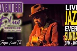 Live Jazz Every Sunday with Jacques Lesure Trio