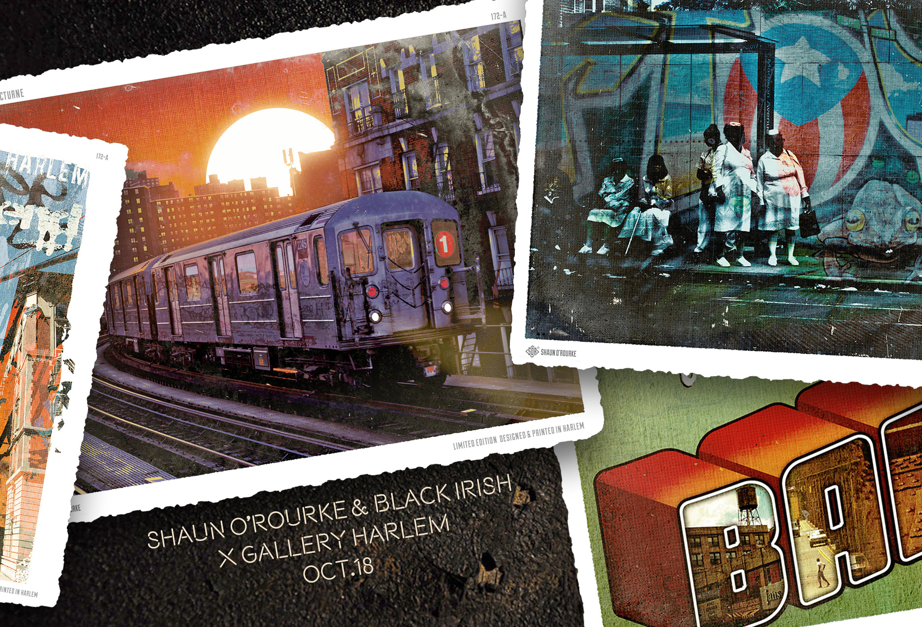 Black Irish Presents Greetings From Harlem The Past Is Present