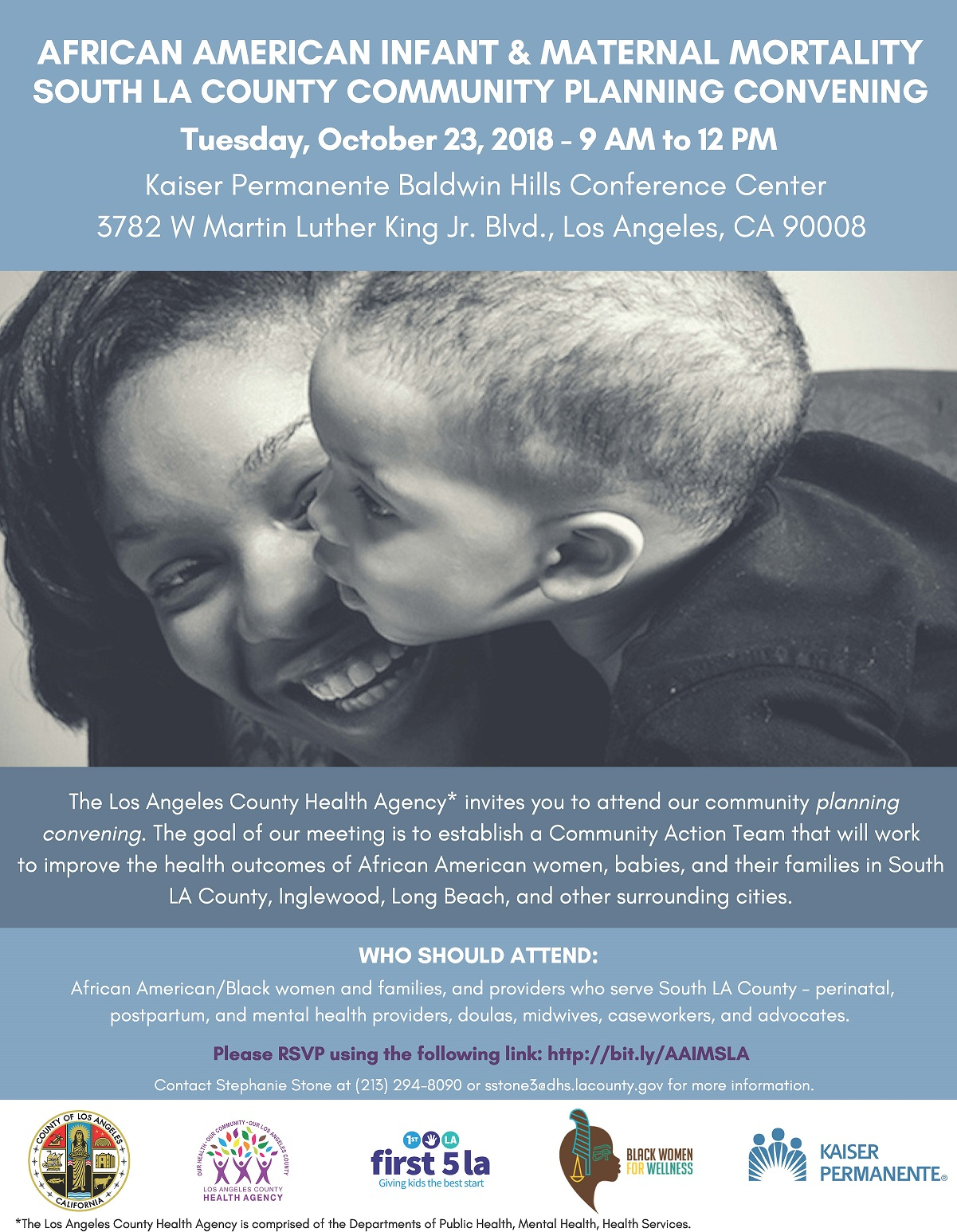 African American Infant Maternal Mortality Community Planning