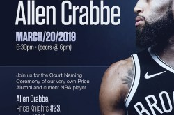 A Knight with Allen Crabbe- Court Naming Ceremony