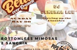 Beats Over Brunch at Pips On LaBrea